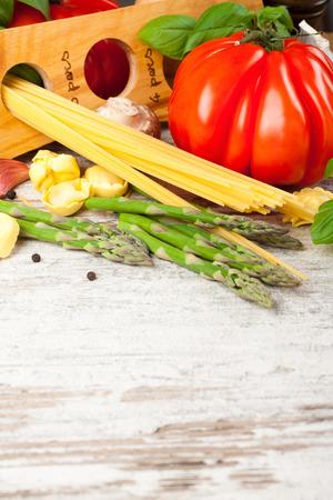 Fondo de comida italiana