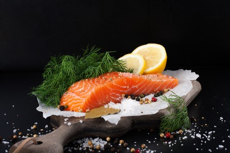 speciality: Delicious salmon fillet, rich in omega 3 oil