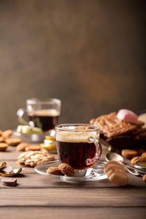 Dutch holiday Sinterklaas festive breakfast Фото со стока