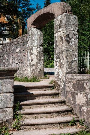 The monastery ruins of All Saints Allerheiligen