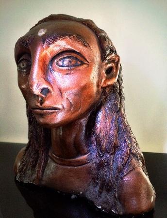 eye: An Anabua alien statue bust