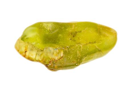 uncut: Il verde senza tagli e ruvida Peridot o Olivina, come viene anche chiamato Archivio Fotografico