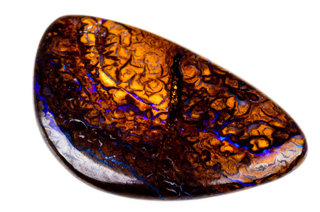 Australian brown and blue Opal boulder