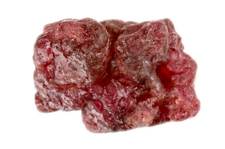 spinel: Lovely red spinel crystal. Uncut and raw.