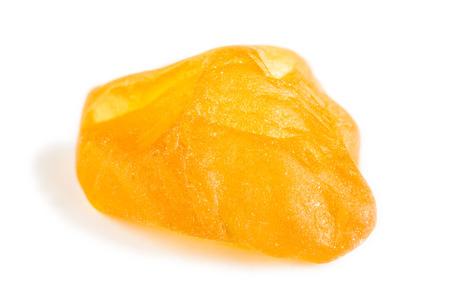 uncut: A uncut cristallo di zaffiro giallo crudo
