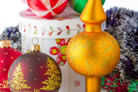 New Year decorations photo
