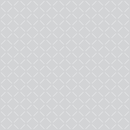 discontinuous: Geometric seamless pattern with discontinuous lines. Texture with repeating diamonds. Monochrome. Vector illustration