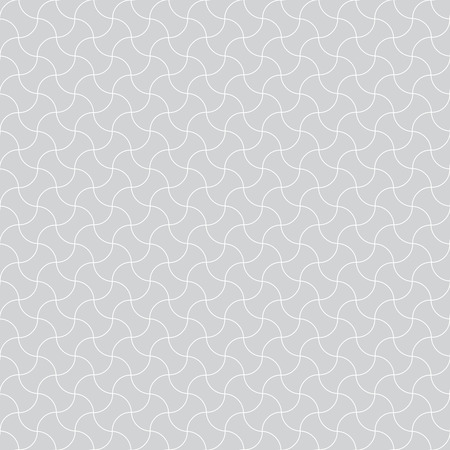 diagonally: Seamless pattern. Stylish geometric texture with diagonally intersecting waves. Monochrome. Backdrop. Web. Outline. Vector illustration Illustration