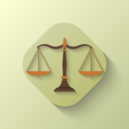 criminal justice: Scales of Justice icon