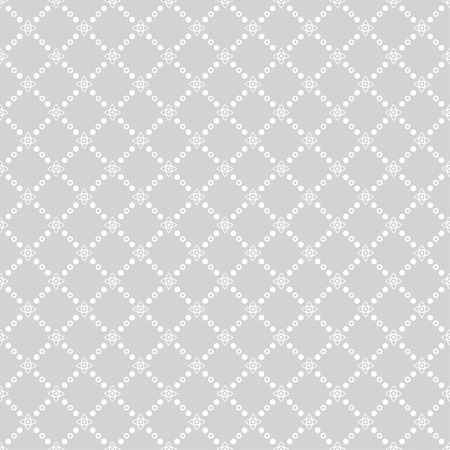 repeated: Seamless pattern. Classic geometric texture with dots and stars. Repeated diamonds, crosses, point Illustration