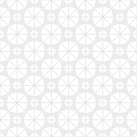 geometrical shapes: Seamless pattern. Stylish texture with small dots. Repeating geometrical shapes, rhombuses, polygons, strips, stars