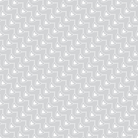 ellipses: Seamless pattern. Stylish geometric texture with the repeating hearts, ovals, ellipses, dots