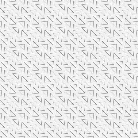 fine lines: Seamless pattern. Diagonal geometric texture with repeating triangles. Fine lines.  Monochrome. Backdrop. Web. Soft vector background. Vector illustration for your design