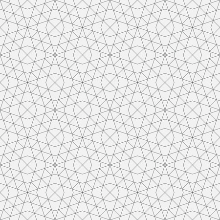 Seamless pattern. Geometrical linear texture. Repeating thin broken lines, polygon, difficult polygonal shapes. Original geometrical pattern. Backdrop. Web. Vector element of graphic design Ilustração