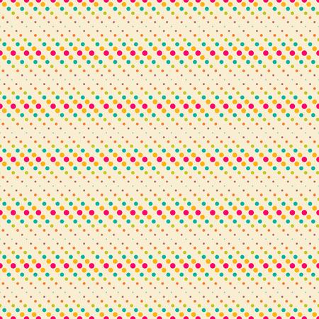 line art: Patr�n sin fisuras. Textura de color de moda. Patr�n de colores brillantes con los elementos que se repiten regularmente geom�tricas, formas, puntos, l�neas de puntos diagonales. Tel�n de fondo. Web. Elemento del vector de dise�o gr�fico
