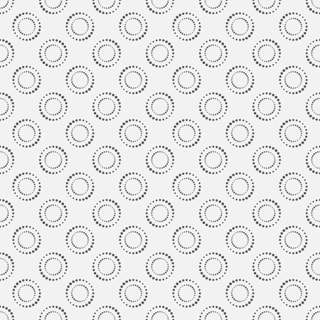 geometrical shapes: Seamless pattern. Simple classical texture with the repeating geometrical shapes and dots