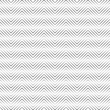 Seamless pattern. Simple original linear texture. Regularly repeating geometrical elements, shapes, thin lines, zigzags. Geometrical background.
