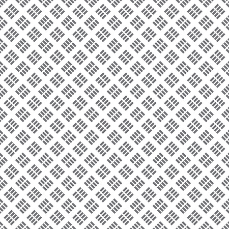 regularly: Seamless pattern. Classical tile. Texture with regularly repeating geometrical elements, shapes, dashed lines, rhombuses.