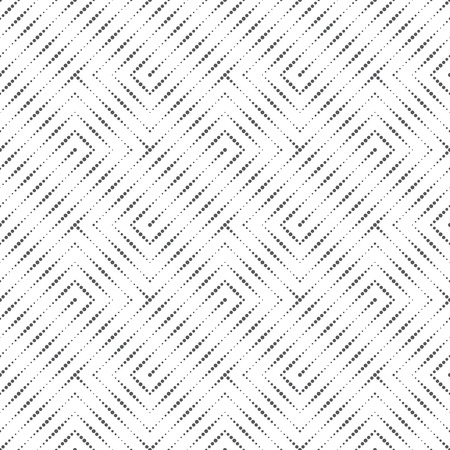 regularly: Seamless pattern. Original stylish texture with small dots. Regularly repeating geometrical elements, shapes, dots, dotted lines, zigzags.