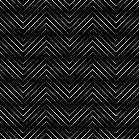 Seamless pattern. Simple original linear texture. Regularly repeating geometrical elements, shapes, thin lines, zigzags. Geometrical background. Backdrop. Web. Vector element of graphic design Illustration