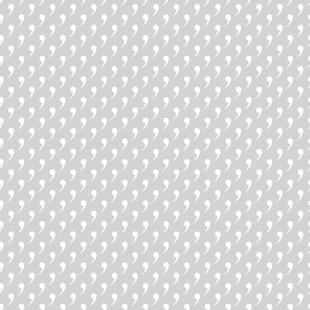 regularly: Seamless pattern. Simple original texture. Regularly repeating geometrical elements, shapes, commas, quotes. Monochrome. Backdrop. Web. Vector element of graphic design