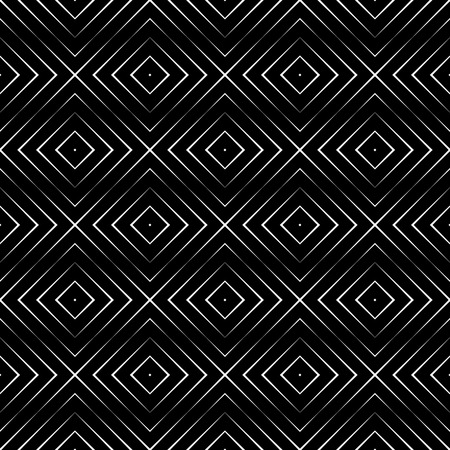 regularly: Seamless pattern. Simple linear texture. Regularly repeating geometrical elements, shapes, crossed lines, rhombuses, diamonds. Simple linear mosaic. Backdrop. Web. Vector element of graphic design Illustration