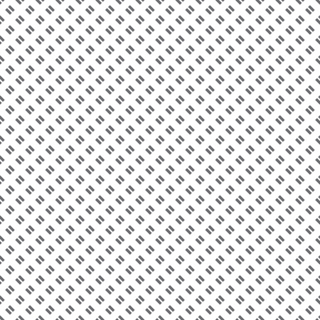 regularly: Seamless pattern. Abstract diagonal textured background. Simple texture with regularly repeating geometrical elements, shapes, short strips, lines. Vector element of graphic design