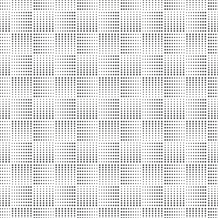 seamless vector: Seamless pattern. Abstract small dotted background. Simple original texture with regularly repeating geometrical shapes, dots, dotted lines, squares. Vector element of graphical design