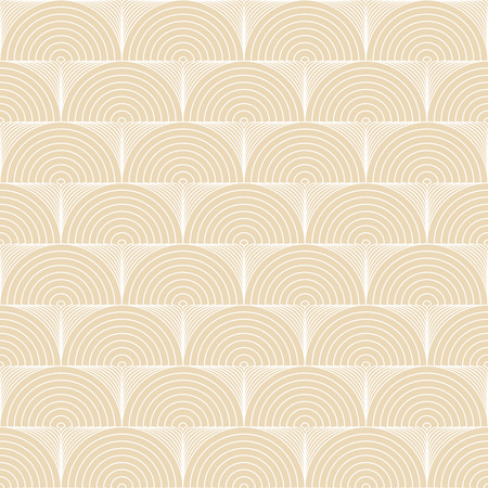 original circular abstract: Seamless pattern. Abstract ornamental textured background. Original stylish texture with repeating geometrical shapes, semicircles, arcs, circular elements. Vector element of graphic design