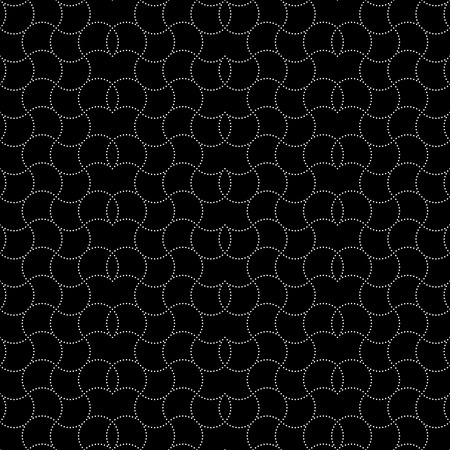 original circular abstract: Seamless pattern. Abstract seamless background. Modern stylish texture. Endlessly repeating geometric ornament. Vector element of graphic design
