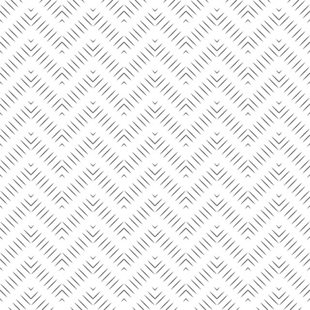 regularly: Seamless pattern. Abstract linear textured background. Minimalist modern texture with regularly repeating geometrical shapes, thin lines, zigzags. Vector element of graphic design Illustration