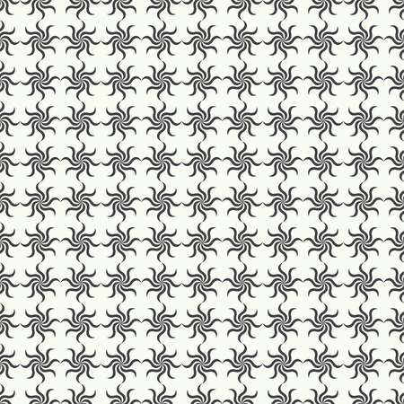 endlessly: Seamless pattern. Abstract ornamental textured background. Retro stylish texture. Endlessly repeating floral ornament. Vector element of graphic design Illustration
