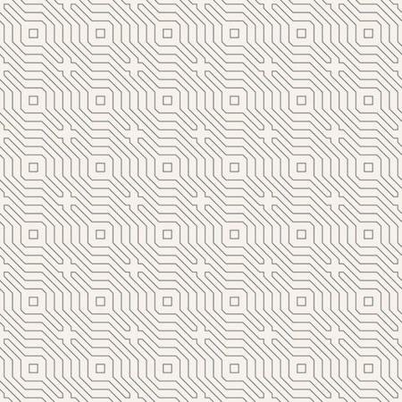 centric: Seamless pattern. Abstract linear textured background. Modern stylish texture with thin lines. Regularly repeating geometrical ornament. Vector element of graphic design Illustration