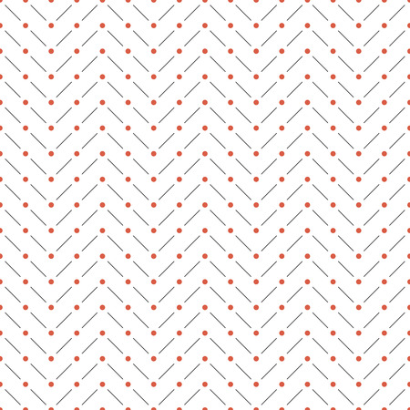 ornamental design: Seamless pattern. Abstract minimal background. Modern stylish texture. Regularly repeating geometrical shapes, dashed zigzag lines, small dots. Vector element of graphic design