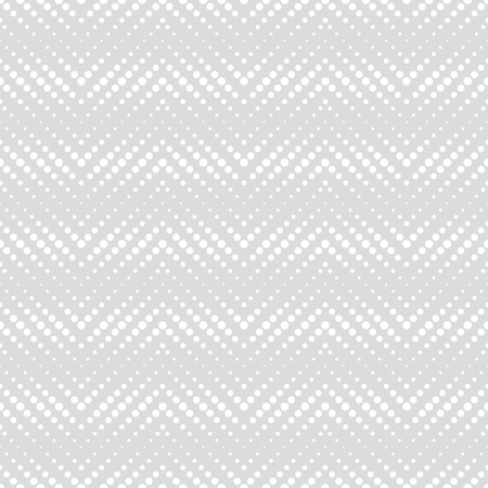 regularly: Seamless pattern. Abstract halftone textured background. Modern stylish texture. Regularly repeating geometrical shapes, dotted zigzags. Vector element of graphical design Illustration