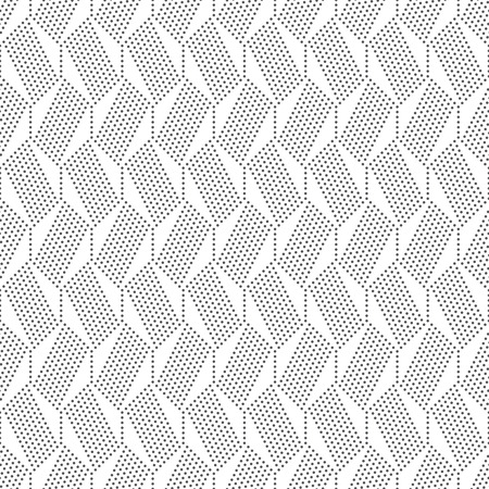 vintage wallpaper: Seamless pattern. Abstract geometrical background. Modern stylish texture with small dots. Regularly repeating dotted hexagons and lines. Vector element of graphical design