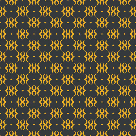 endlessly: Seamless pattern. Abstract ornamental textured background. Beautiful stylish texture. Endlessly repeating floral ornament. Vector element of graphic design Illustration