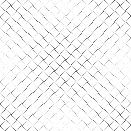 regularly: Seamless pattern. Vector abstract geometrical background. Modern stylish texture with curved lines. Regularly repeating tiles with linear diamonds, rhombuses, crosses
