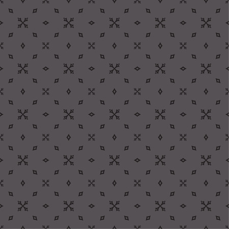 endlessly: Seamless pattern. Abstract textured background. Modern stylish texture. Endlessly repeating geometrical tiles with stylized crosses and rhombuses. Vector element of graphic design Illustration