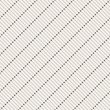 textile texture: Seamless pattern. Abstract modern dotted background. Stylish diagonal texture with repeating geometrical shapes, dotted lines, small dots. Vector element of graphic design