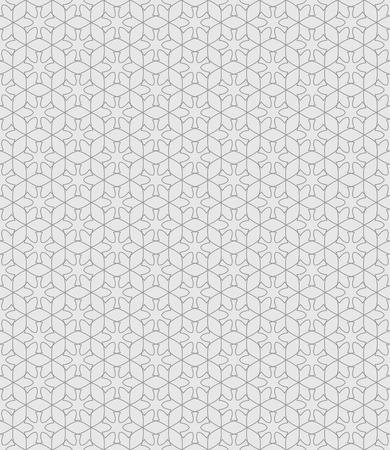 endlessly: Seamless pattern. Abstract textured background. Beautiful stylish texture. Endlessly repeating geometrical hexagons and ornamental shapes. Vector element of graphic design