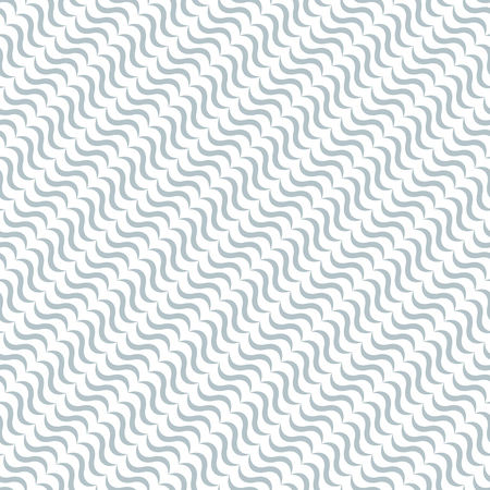 endlessly: Seamless pattern. Abstract gentle textured background. Modern stylish texture in the form of diagonal waves. Endlessly repeating elegant ornament. Vector element of graphic design Illustration