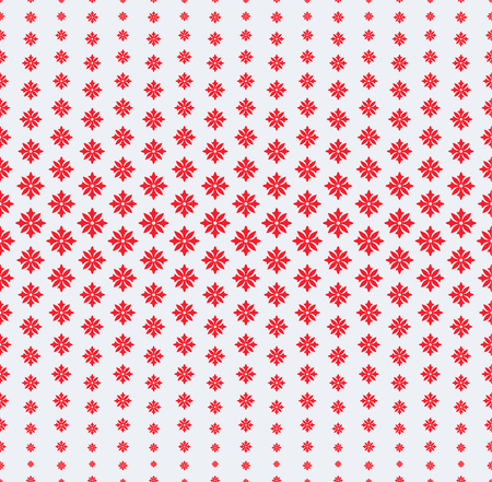 smaller: Seamless pattern. Abstract halftone background. Modern stylish texture. Repeating grid with flowers of the different size. Gradation from bigger to the smaller. Vector element graphic design