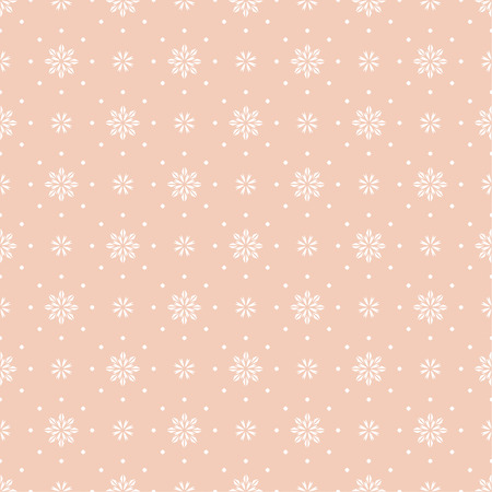 cut flowers: Vector seamless pattern. Luxury elegant texture with cut flowers and rhombuses. Pattern can be used as a background, wallpaper, wrapper, page fill, element of ornate decoration Illustration