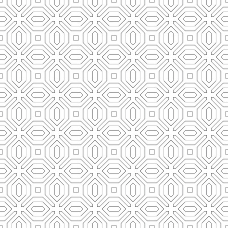 regularly: Seamless pattern. Abstract geometrical background. Modern stylish texture. Regularly repeating elegant tiles with polygonal outline shapes. element of graphical design Illustration