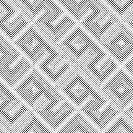 regularly: Seamless pattern. Classical stylish texture. Regularly repeating geometrical ornament with diamonds, rhombuses, zigzags. Vector element of graphic design Illustration