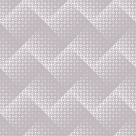 regularly: Seamless pattern. Abstract halftone background. Modern stylish texture. Regularly repeating elegant zigzags, which consist of elements of the different size Vector element of graphical design