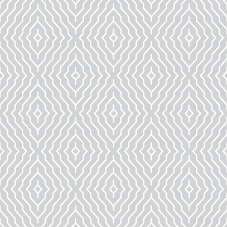 Seamless pattern. Abstract geometrical background. Modern stylish texture. Regularly repeating tiles with rhombuses and diamonds. Vector element of graphical design Ilustração