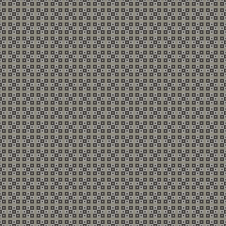 regularly: Seamless pattern. Abstract pixel background. Modern stylish texture with small squares. Regularly repeating geometric tiles with pixel rhombuses. Vector element of graphic design Illustration