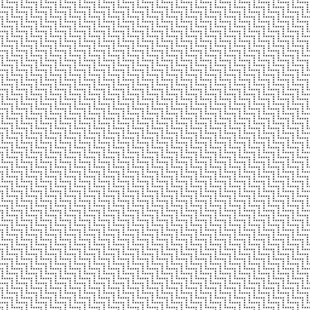 textile texture: Seamless pattern. Modern stylish texture with small dots. Regularly repeating geometrical ornament with diagonal dotted zigzag lines. Vector element of graphical design